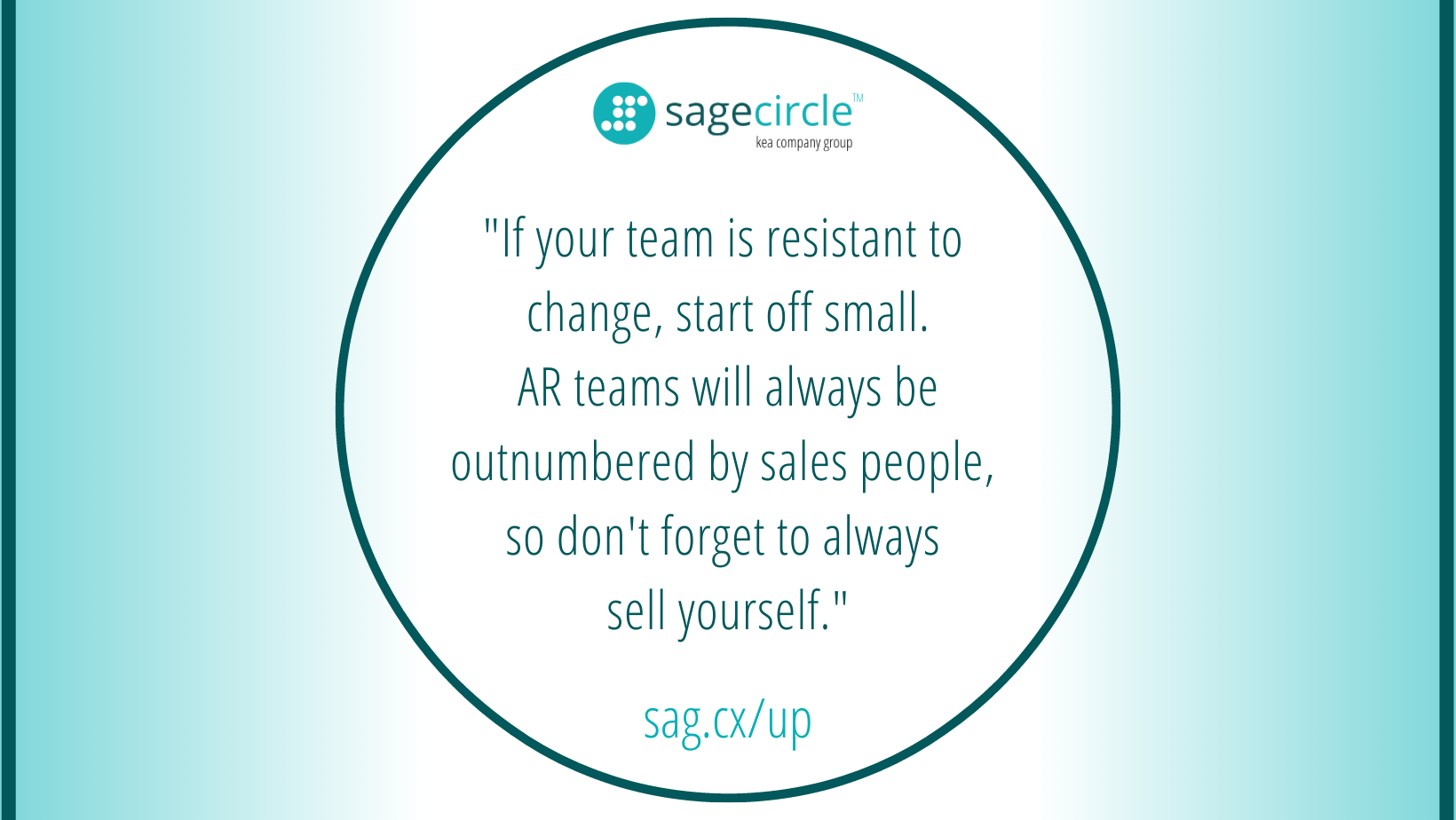 Overcoming Resistance to Change in a Sales Team